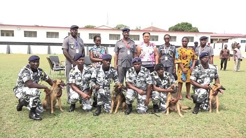 Port Security, Military, Others Undergo Dog Handlers and Special Investigations Basic Courses