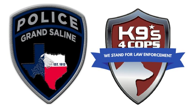 K9s4COPs, NFL Player to Gift K9 to Grand Saline Police Department