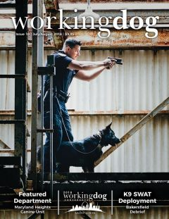 Working Dog Magazine - July/August 2018